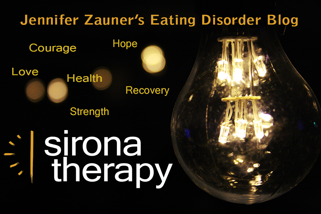 Jennifer Zauner's Eating Disorder Blog, Sirona Therapy Westchester